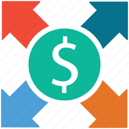 business, finance, marketing, web icon