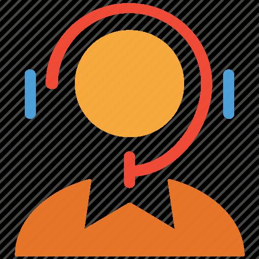customer care, customer service, earphone, headphone icon