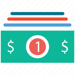 cash, currency, dollars, money flow icon