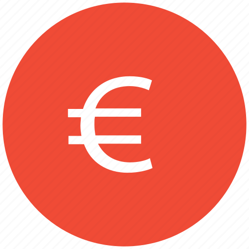coin, currency, euro, euro sign icon