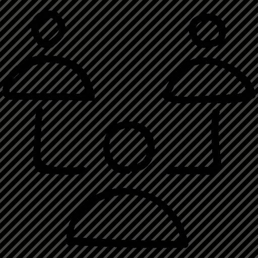 business, businessmen, team, teamwork icon