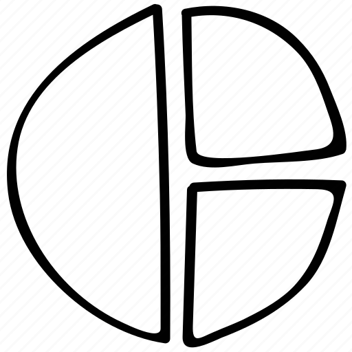 analytics, graph, pie, report icon