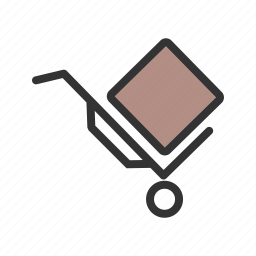 box, carrier, carton, package, packaging, retail icon