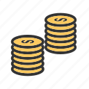 business, coin, coins, currency, finance, money, stack