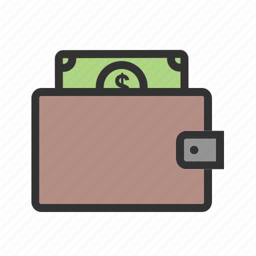 cards, cash holder, money, moneybag, purse, wallet icon