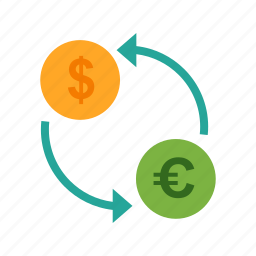 banking, convert, currency, dollar, exchange, money icon