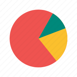 business, chart, graph, growth, information, pie, presentation icon