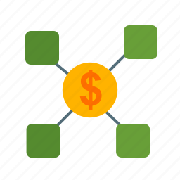 business, communication, finance, financial, market, money icon