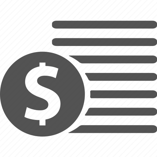 billing, cash, dollar, finance, financial, invoice, money icon