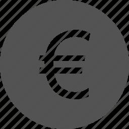 cash, euro, finance, money icon