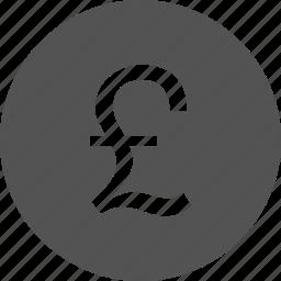 cash, finance, money, pound icon