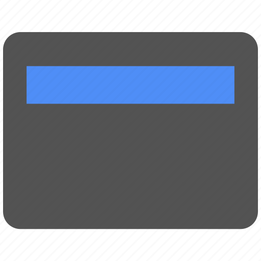 bank, banking, blue, card, cash, credit card, finance icon