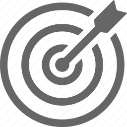 arrow, dart, exactly, target icon