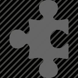 component, part, piece, plug, plugin, puzzle icon