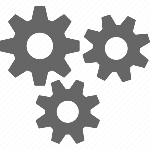 configuration, gear, gears, options, preferences, settings, tools icon