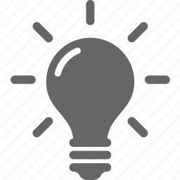 bulb, business, creative, discover, idea, light, solution icon