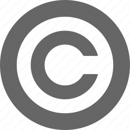 certified, copy, copyright, law, license, own icon