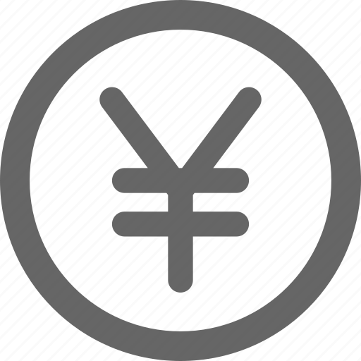 business, currency, finance, japan, yen icon