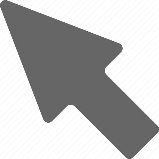 arrow, left, up icon