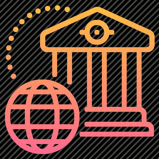 Bank, finance, financial, global, institution, international, world icon - Download on Iconfinder