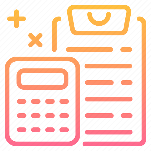 Business, calculator, document, finance, management icon - Download on Iconfinder