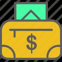 bag, finance, money, money purse, wallet