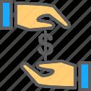 cash, dollar, finance, money, payment, payment method