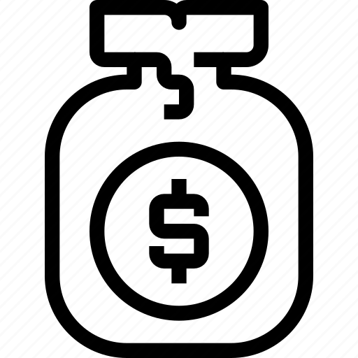 bag, banking, business, finance, money, saving icon