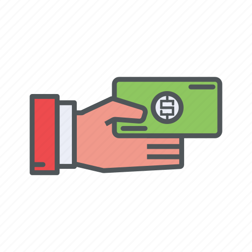 filled, finance, financial, money, outline, payment icon