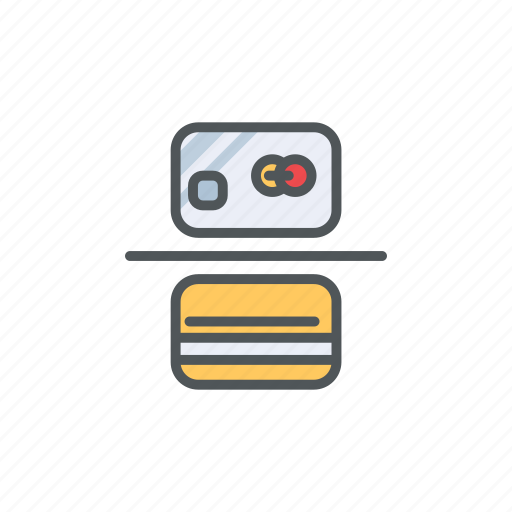 filled, financial, mastercard, outline, payment, visa icon