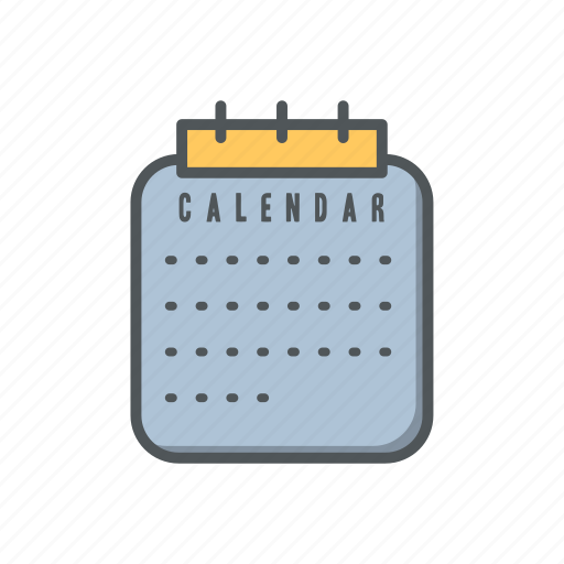 calendar, date, filled, financial, outline, time icon