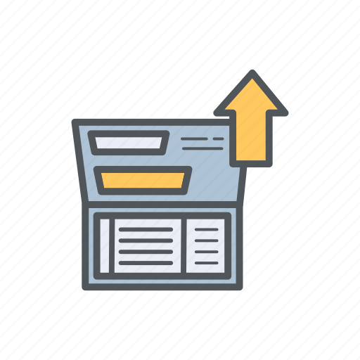 account, bank, deposit, filled, financial, outline icon