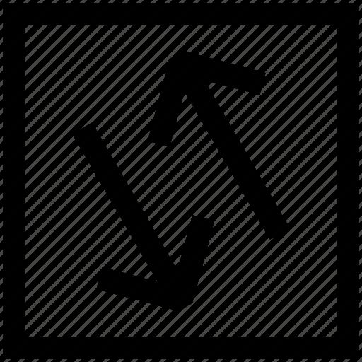 development, exchange, movement, transaction icon