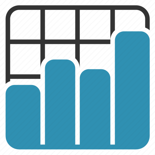 analytics, bars, chart, report, sales icon