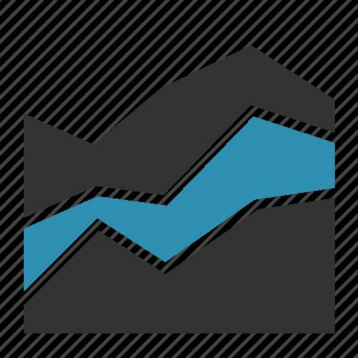 analytics, chart, report, sales, statistics icon