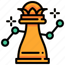 ana, chess, financial, strategy icon