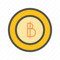 bank, bitcoin, financial, money, online, tech icon