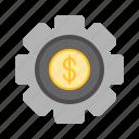 bank, finance, internet, making, money, online icon