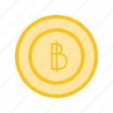 bank, bitcoin, finance, internet, money, online icon