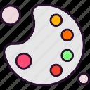 arts, fine, pad icon