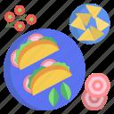 tacos, and, nachos