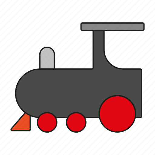locomotive, railway, toys, train, transport, transportation, travel icon