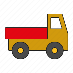 car, cargo, lorry, toys, transportation, truck, vehicle icon