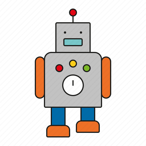 android, machine, robot, technology, toys icon