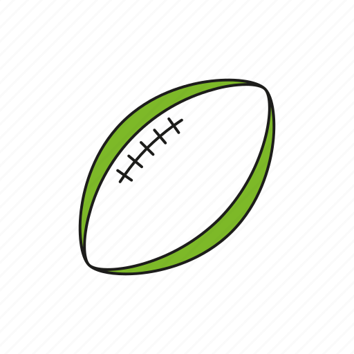 ball, equipment, games, olympics, rugby, sports, team sports icon