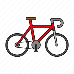 bicycle, bike, cycling, equipment, games, olympics, sports icon
