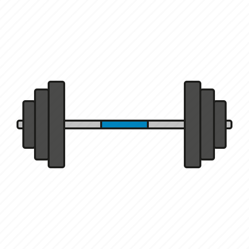 athletics, barbell, equipment, games, olympics, sports, weightlifting icon