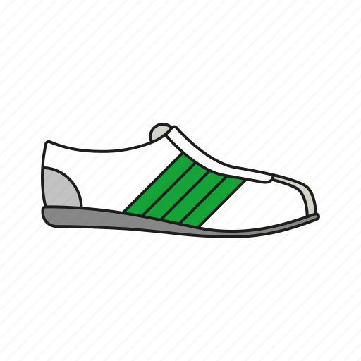 equipment, olympics, runner, shoe, sneaker, sports, sports shoe icon