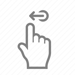 double, fingaz, fingers, gesture, gesturicons, grab, hand, left, palm, slide, swipe, tap, touch, zoom icon