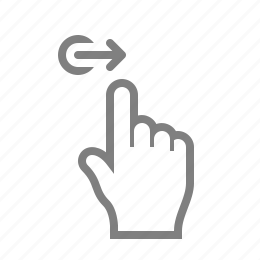 double, fingaz, fingers, gesture, gesturicons, grab, hand, palm, right, side, slide, swipe, tap, touch, zoom icon
